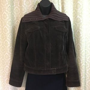 J. Crew corduroy jacket with knit collar